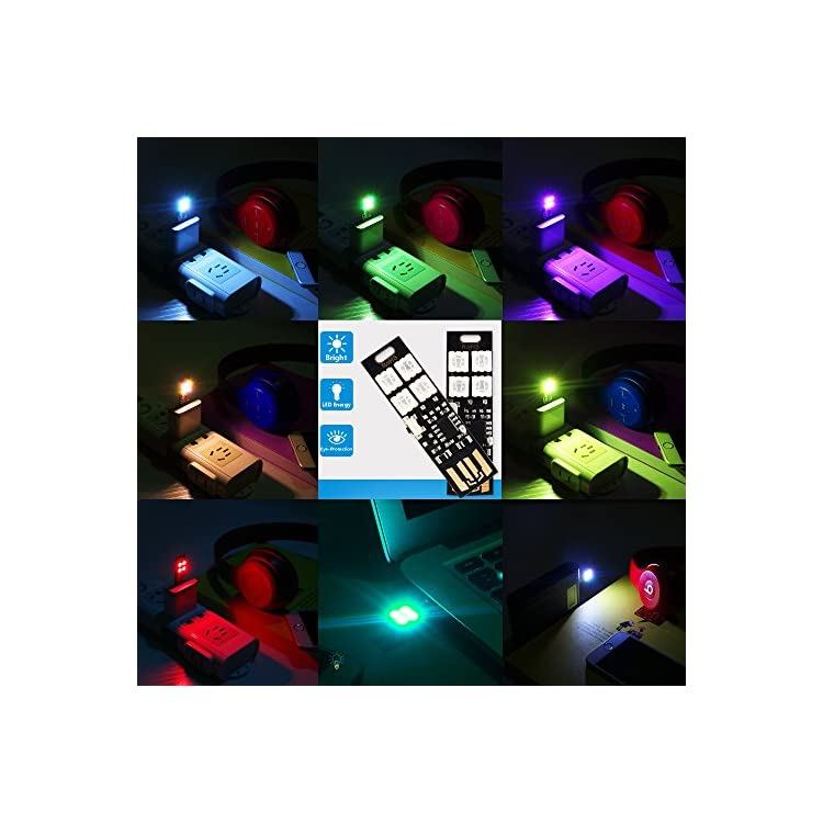 Multi-Color-Changing-USB-Lights-Lamp-7-Colors-Night-Light-5050-RGB-4-L