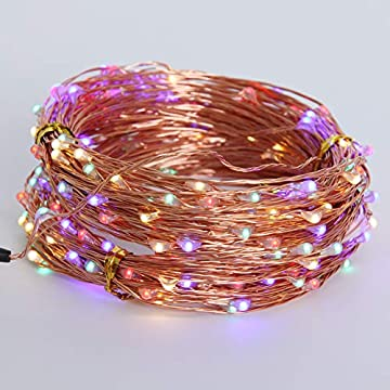 Color-LED-String-Lights-Power-Adapter,-66Ft-200-LED-Decorative-Lights-for-Indoor-Outdoor-Party-Wedding-Birthday-Christmas-Thanksgiving-Holiday-Festival-Home-Decoration