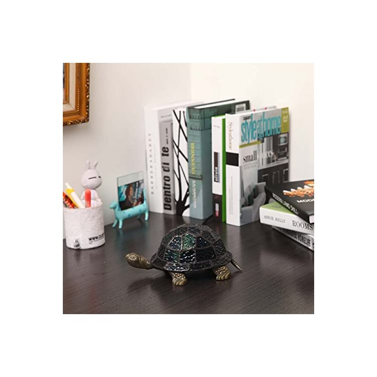 L10592-Tortoise-Tiffany-Style-Stained-Glass-Accent-Table-Lamp-Night-Li