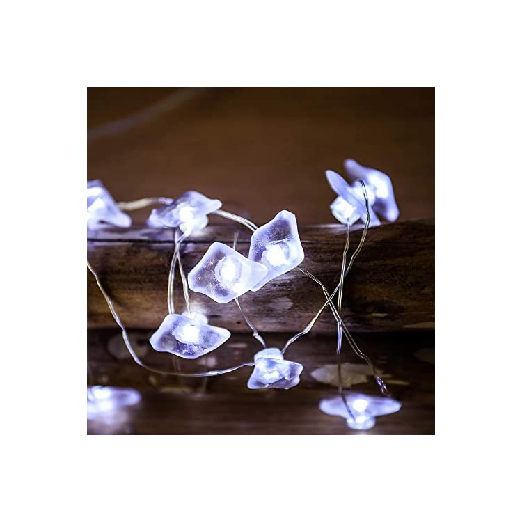 LED-Decorative-String-Lights,-Sea-Glass-String-Lights,-13ft-40-LED-Ocean-Themed-Beach-Lights-with-Remote-for-Indoor-Outdoor-Nursery