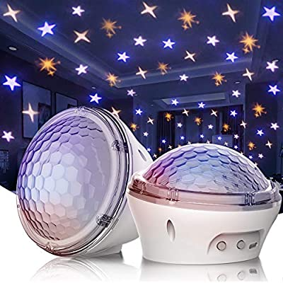 Star-Projector-Night-Light,-LED-Lights-for-Bedroom-Room-with-4-Modes-and-Timer-Setting,-[2020-New-Launch-Model]-Best-Gift-Choice-for-Baby-Children-Indoor