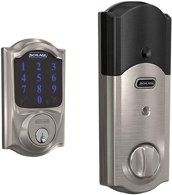 Schlage-BE469ZP-CAM-619-Connect-Smart-Deadbolt-with-Alarm-with-Camelot