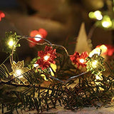 Maple-Leaf-Fairy-String-Lights-10ft-40LEDs-Copper-Wire-With-the-Remote-&-Timer-for-Thanksgiving-Harvest-Halloween-Christmas-Birthday-Gift-Autumn-Indoor-Parties-Home-Bedroom-Decoration