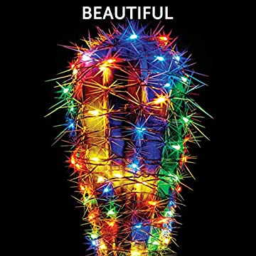 2-Pack-100-LED-Battery-Operated-String-Lights-with-Built-In-Timer-and-Memory-function,-Multicolor-Copper-Wire-Fairy-Lights,-Waterproof-Christmas-lights,-8-Modes-Indoor-and-Outdoor-Decoration