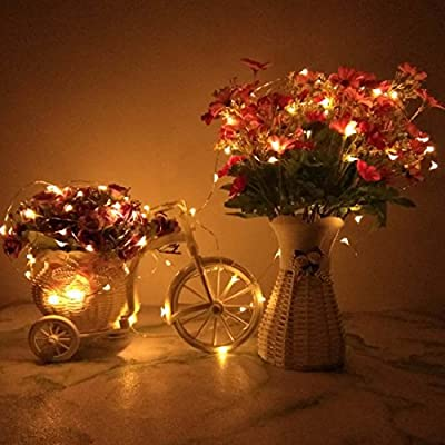 12-Pack-Waterproof-LED-String-Lights,-Indoor/Ourdoor-Micro-LED-Lights,-2m/6.5ft-20-LEDs,Warm-White-Color,-Battery-Operated,-Holiday-DIY-Decor-Fairy-Lights-for-Christmas,Halloween,New-Year.