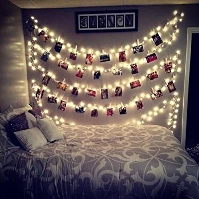 20-LED-Photos-Clips-String-Lights-(10ft.-Warm-White)-Battery-Operated-Fairy-String-Lights-for-bedroom-Hanging-Photos,-Cards-and-Artworks