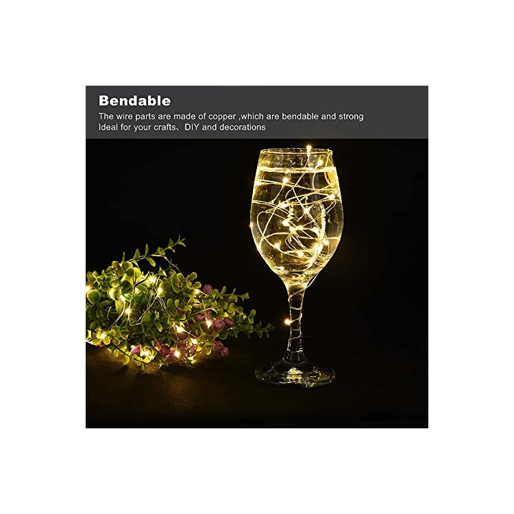 48-Pack-Led-Fairy-Lights-Battery-Operated,-20-LEDs-Silver-Wire-Warm-White-Firefly-Lights,3.3FT-Waterproof-Mini-Led-Starry-String-Lights-for-Wedding-Party-Mason-Jars-Centerpieces