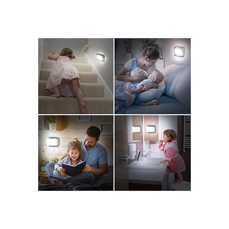 Motion-Sensor-Closet-Light,-Wall-Lights-Battery-Operated,-Luxury-Aluminum-Stick-on-Anywhere-Wall-Lamp-Sconces,-Motion-Sensor-Indoor-Security-Light-for-Stair,-Kitchen,-Bathroom,-Hallway,-2-Pack