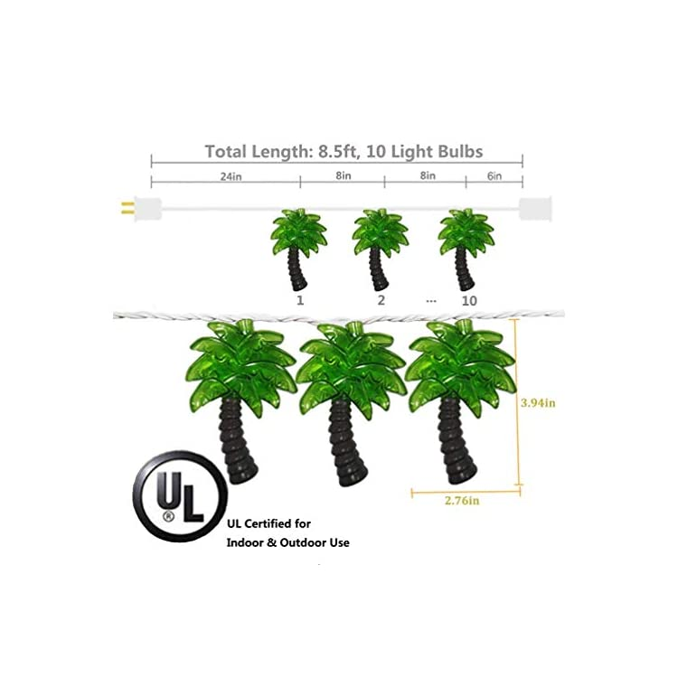 Palm-Tree-Patio-Lights-String---Summer-Patio-String-Lights,-Beach-Themed-Party-Decorations,-Tropical-Party-Decorations,-Indoor-Fun-Lights,-Birthday-String-Lights