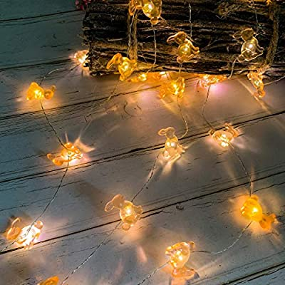 Easter-Decoration-Bunny-Lights,-Easter-Bunny-Rabbit-Festive-String-Lights-Battery-Operated-with-Remote-10FT-40-LEDs-for-Birthday&-Wedding-Party,-Indoor-Outdoor-Home-Bedroom-Décor