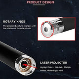 Romantic-Auto-Roof-Star-Projector-Lights,-Flexible-USB-Night-Lamp-Fit-All-Cars-SUV-Truck-Ceiling-Decoration-Light-Interior-Ambient-Atmosphere---Plug-and-Play-(Red)