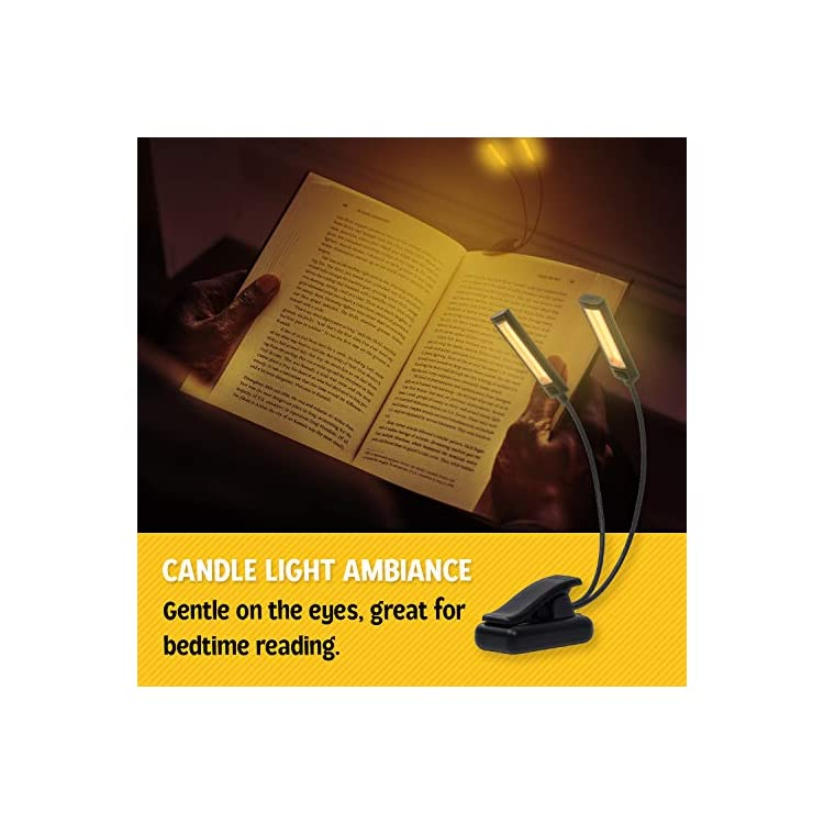 Amber-LED-Music-Stand-Light-–-Clip-On-Book-Reading-Light-with-Gentle-A