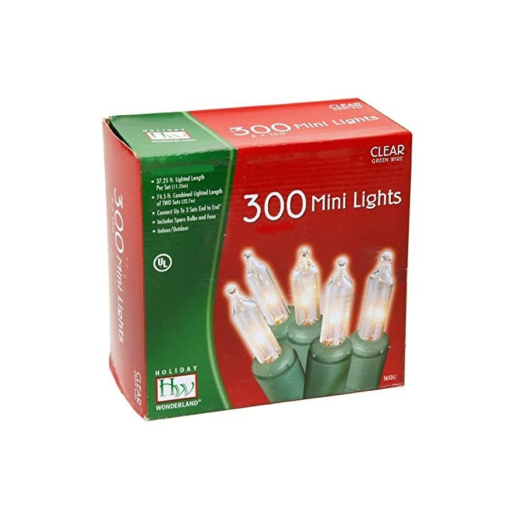 48150-88-Holiday-Wonderland-Clear-Green-Wire-Christmas-Mini-Light-Set,-300-Count