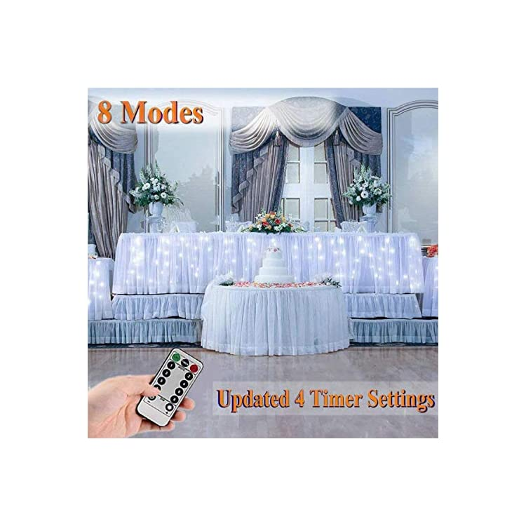 300-LED-Window-Curtain-Fairy-Lights-USB-Plug-in-Curtain-String-Lights-8-Modes-Remote-Control-Twinkle-Lights-LED-Sliver-String-Lights-for-Outdoor-Indoor-Wedding-Party-Garden-Bedroom-Decoration