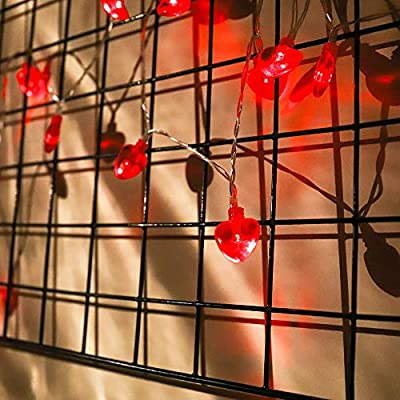 Valentines-Decorations-14.5ft-40LED-Valentine-Red-Heart-Shaped-String-Lights-Valentines-Day-Decor-for-Valentine's-Day-Party-Favors,-Mother's-Day,-Anniversary,-Wedding,-Engagement-Party-Supplies