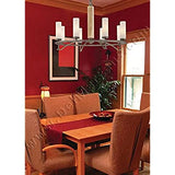 Wall-Sconce-Lighting-4462-273,-Compositions-Glass-Wall-Lamp-Fixture,-2-Light,-120-Watts-Halogen,-Iron
