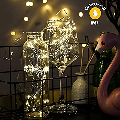 Fairy-Lights,-String-Lights-10M-100-LED-Rechargeable-Fairy-Lights-IP67-Waterproof-Copper-Wire,-Mains-Powered-Warm-White-Christmas-Lights-for-Outdoor,-Indoor,-Wedding,-Garden,-Gazebo-etc