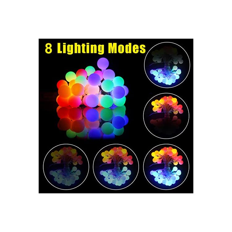 2-Pack-Indoor-String-Lights-Battery-Operated-for-Bedroom-Living-Room-Classroom-Dorm-Decorative-String-Lights-Outdoor-Globe-Hanging-Waterproof,-13-FT-40-LED-8-Modes(Colorful)