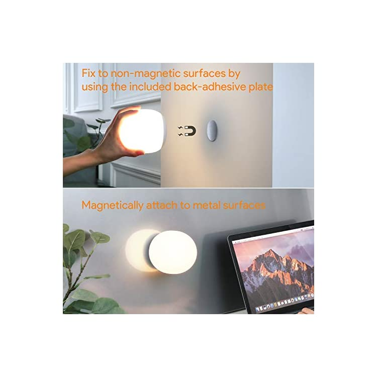 Wireless-Baby-Night-Light-for-Kids-up-to-100hrs,-Dimmable-LED-Nursery-Lamp-for-Breastfeeding,-Touch-Bedside-Lamp-for-Children-with-Color-Changing,-1h-Timer,-Built-in-Magnet,-Night-Light-Mode