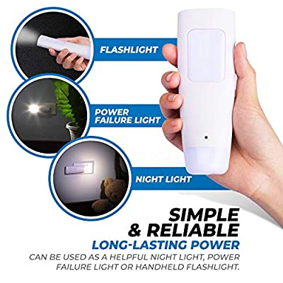 Emergency-Light,-2-Pack-–-Multi-Function-LED-Rechargeable-Flashlight,-Power-Failure-Light-and-Night-Light-–-Must-Have-Power-Outage-Lights,-Ideal-for-Storms,-Blackouts-–-NL-PWFL-AmerTac
