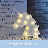 Cute-Multicolor-LED-Night-Light-for-Animals-Clouds-Stars-Moon,-Remote-Control-and-Timer-Setting-Night-Lamp-for-Children-Kids-Baby's-Bedroom-(Unicorn(White))