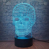 Magic-Skull-Head-3D-Skull-LED-Night-Light-with-Touch-Button-Base-Remote-Controller,Colorful-Table-Desk-Lamp-for-Home/Office/Holiday-Decorations-Novelty-Toy-Christmas-Halloween-Gift