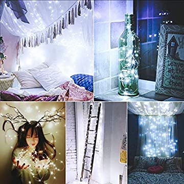 Battery-Operated-Fairy-String-Lights,-Led-Mini-String-Lights-50-LED-16.5-FT-Battery-Powered-Sliver-Wire-Starry-Fairy-Lights-for-Indoor-Outdoor-Wedding-Home-Garden-Party-Decoration(Cool-White)