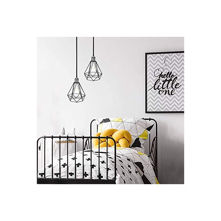 2pcs-DIY-Bird-Cage-Lamp-Shade-Vintage-Style-Light-Holders---Industrial