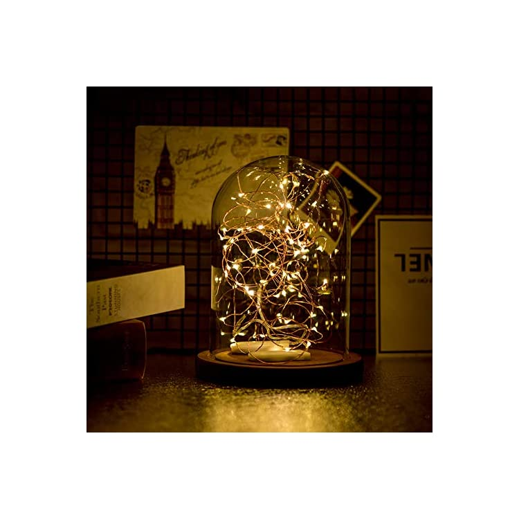 12-Pack-Fairy-String-Lights.10ft-30-LEDs-Fairy-Lights-Battery-Operated-|Waterproof-Copper-Wire-Lights-for-DIY-|Wedding-|-Party-|Christmas-Decorations(Warm-Light)