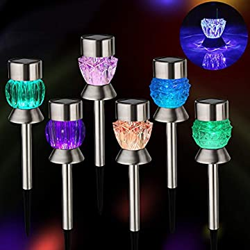 Solar-Lights-Outdoor---Outdoor-Garden-Lights,-Color-Changing-LED-Solar