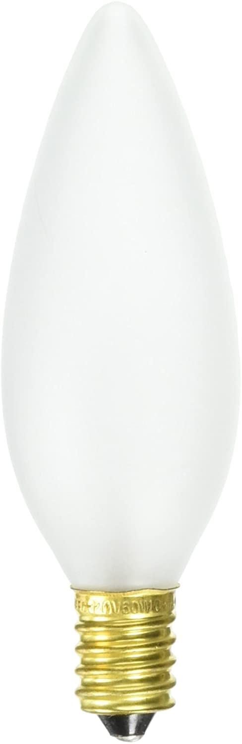 S3382-120-Volt-60-Watt-B10-E14-Euro-Base-Light-Bulb,-Frosted