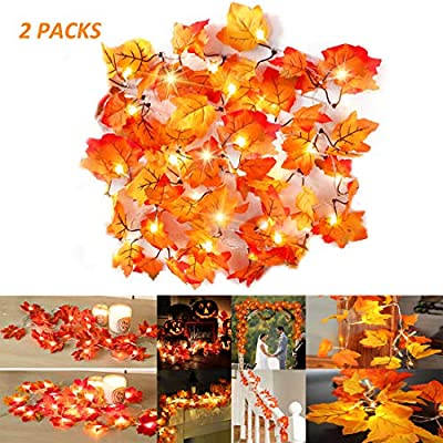 Fall-Maple-Leaf-Garland-20-LED-Maple-Leaves-Fairy-Lights-Maple-Leaf-String-Lights-2AA-Battery-Operated-for-Party,-Harvest-Festival-Fall-Garland-Decorations-8.2-Feet,-2-Packs-(Warm-White)