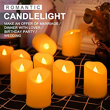 Flameless-Candle-String-Lights,-LED-String-Lights-USB-for-Home-Bedroom-Candlelight-Dinner-Christmas-Birthday-Party-Proposal-Wedding-Valentine's-Day-Indoor-Outdoor-Decoration,-1.6m/5.2ft