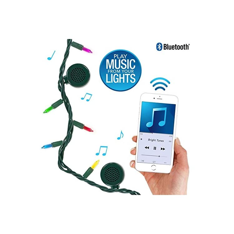 Indoor/Outdoor-5-Color-Multi-Colored-Incandescent-String-Lights-with-Bluetooth-Speakers