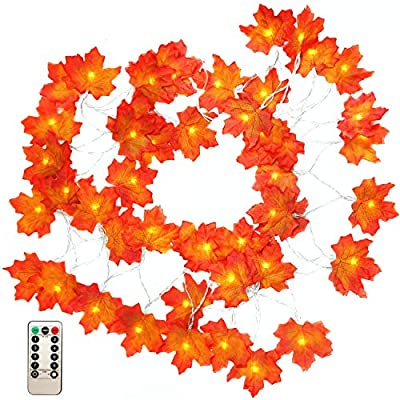 Thanksgiving-Decorations-Fall-Maple-Leaf-Garland-16.5-Feet-50-LED-Maple-Leaves-Fairy-Lights-Battery-Operated-with-Remote-Control-Timer-Waterproof-String-Lights-for-Indoor-Outdoor-Festival-Party-Decor
