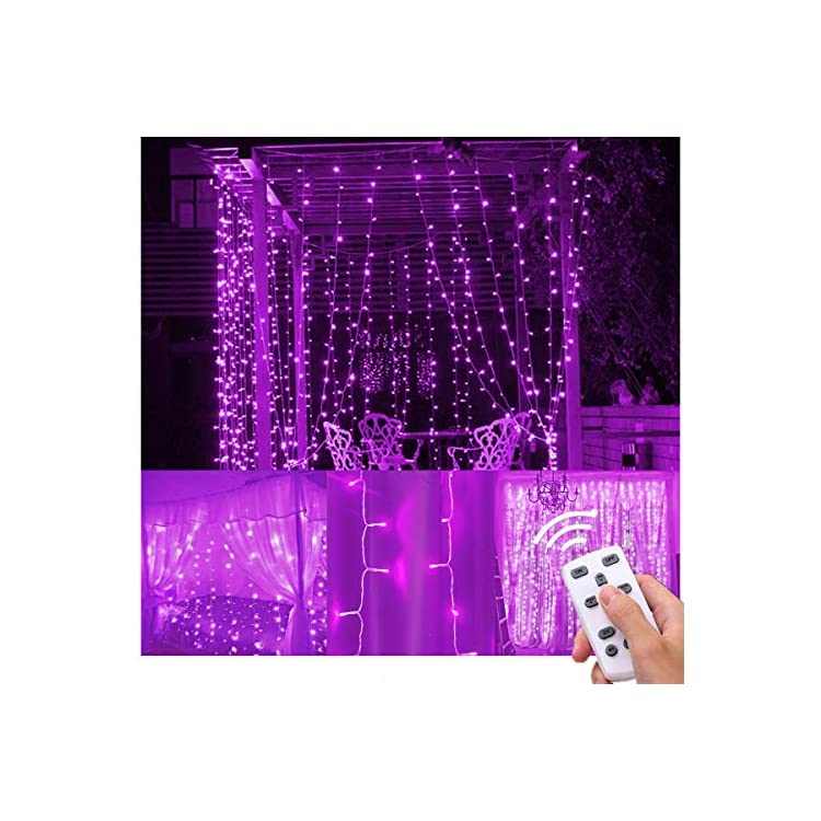 Curtain-Lights-300-LED-Purple-Icicle-Light-LED-Fairy-String-Light-for-Indoor-Outdoor-Christmas-Xmas-Decor,-SY-C1