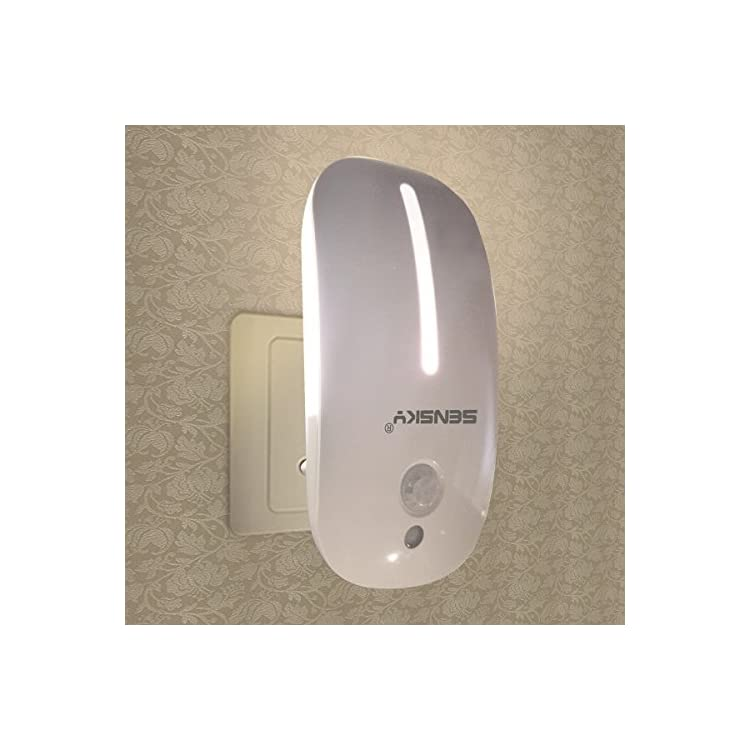 Motion-Activated-Night-Light-Plug-in-Motion-Sensor-LED-Lights-Dusk-to-Dawn-Sensor-Night-Light-Warm-White-Nightlight-for-Bathroom,-Hallway,-Bedroom,-Kitchen,-Stairway