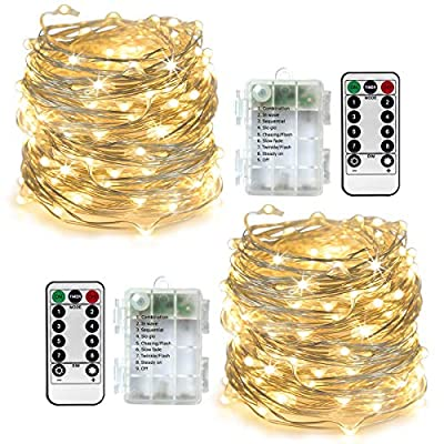 2-Pack-Flexible-Indoor-LED-String-Light,-Powered-by-AA-Battery,-8-Modes-Lighting,-Brightness-Dimmable,-33ft-100Led(Warm-White)