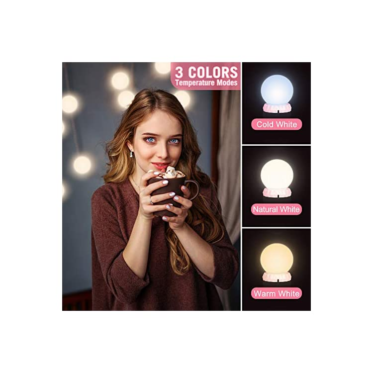 Vanity-Lights-Hollywood-Style-LED-Vanity-Mirror-Lights-with-14-Adjustable-and-Dimmable-LED-Bulbs-Vanity-Light-for-Makeup-Vanity-Lights-Stick-on-for-Bathroom-and-Dressing-Room-Makeup-Lights-(Pink)