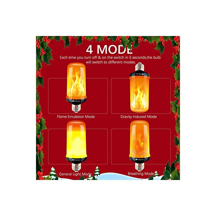 LED-Flame-Effect-Fire-Light-Bulb---Upgraded-E26-Base-4-Modes-with-Upside-Down-Effect-Simulated-Decorative-Light-Atmosphere-Outdoor-Lighting-for-Holiday-Lights-Decoration-(Black)-…-(Black)