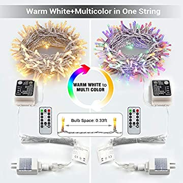 Color-Changing-Indoor-String-Light,-65.67ft-200-LED-9-Function-Warm-White-MultiColor-LED-Easter-Lights-String,-Dimmable-24V-Safe-Adapter-Pastel-Light-with-Timer&Remote-for-Easter-Party-Wedding