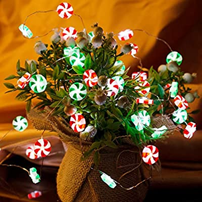 Valentine's-Day-Candy-Lights,-Candy-Decorations-for-Party,-10-ft-40-LEDs-Red-&-Green-Sweets-String-Lights-Battery-Operated-with-Remote-Timer-for-Indoor-Outdoor-Home-Bedroom-Birthday-Wedding