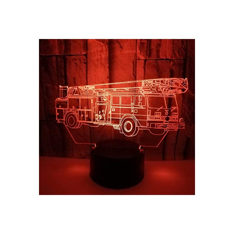 3D-Fire-Engine-Car-Truck-Night-Light-Led-Touch-Switch-Decor-Table-Desk-Optical-Illusion-Lamps-7-Color-Changing-Lights-LED-Table-Lamp-Xmas-Home-Love-Birthday-Children-Kids-Decor-Toy-Gift