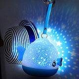 Light-Projector-Remote-Control-Night-Light-Projector-360°-Rotating-Starry-Sky-Night-Lamp-for-Kids-Baby-Children-Nursery-Bedrooms-Living-Room-Decoration,-6-Films-Changeable