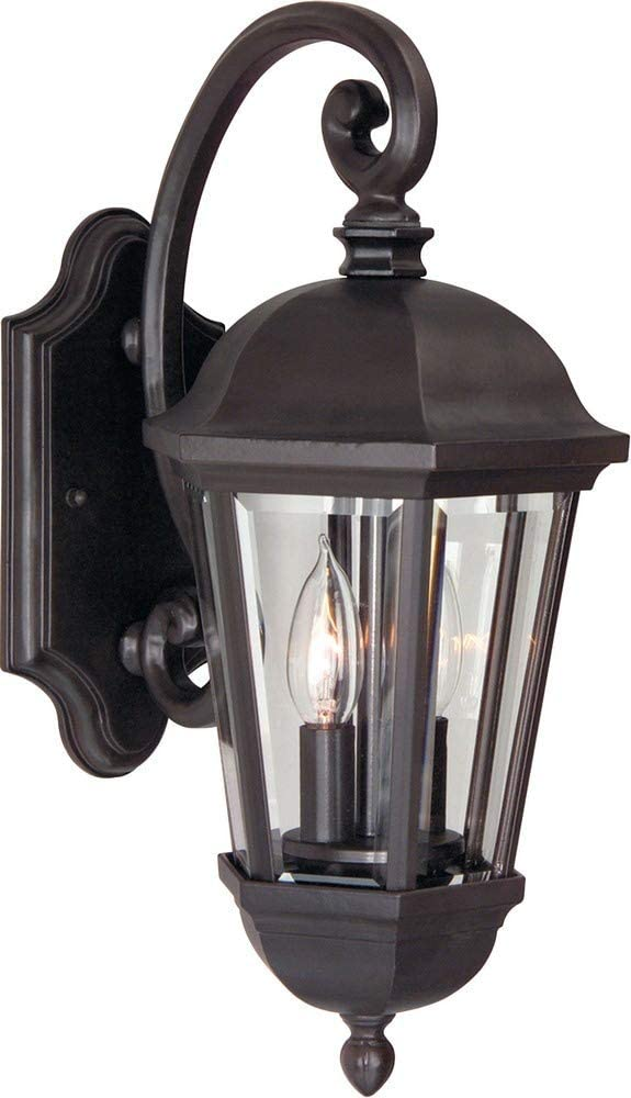 Z3004-OBO-Britannia---Two-Light-Wall-Sconce,-Oiled-Bronze-Finish-with-