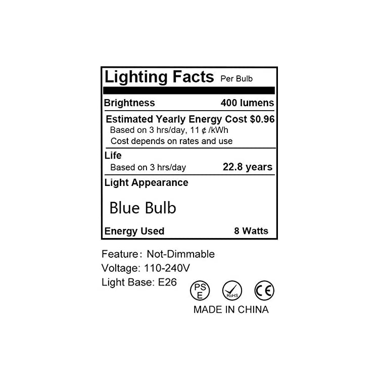 A19-Blue-LED-Bulbs,-Holiday-Lights,-8W(60W-Equivalent),-400LM,-Mood-Lighting-for-Home-Decoration,-Bedroom,-Bathroom,-E26-Base,-Not-Dimmable,-6-Pack