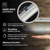 3-Extra-Long-20-inch-Panels-LED-Dimmable-Under-Cabinet-Lighting-Kit,-Hand-Wave-Activated---Touchless-Dimming-Control,-Warm-White-(3000K)