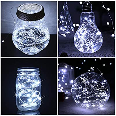 7.2ft-Battery-Operated-LED-String-Lights-with-20-LEDs-for-Christmas,-Bedroom,-Parties-and-Indoor-Decorative-(Silver-Coated-Copper-Wire-Lights,-18-Pack,-White)