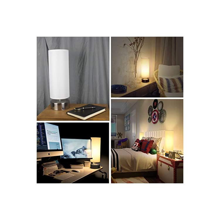 USB-Table-Lamp,-Touch-Control-Bedside-Nightstand-Lamp-USB-Fast-Chargin