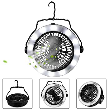 Camping-Lantern,-Camping-Fan-Light,Portable-Lightweight-LED-Tent-Light